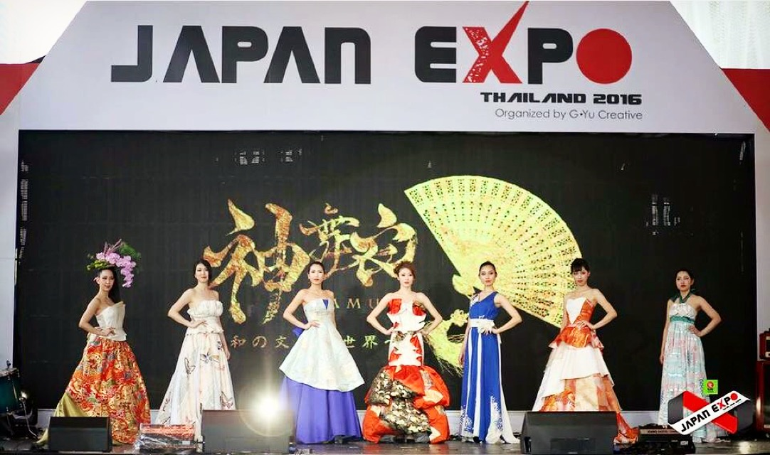 JAPAN EXPO THAILAND 2016 Main stage